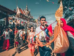 Khmer New Year is widely celebrated in Cambodia 2020