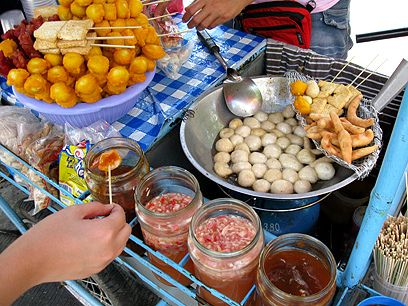 Street food in Cambodia