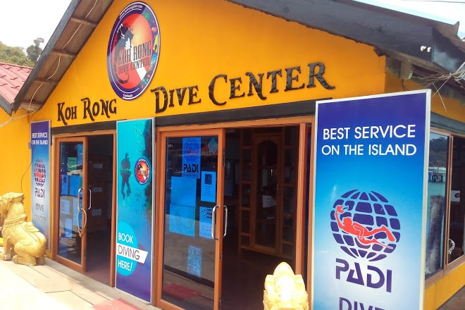Koh rong diving center